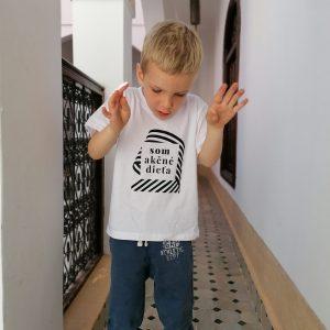 detské akčné tričko