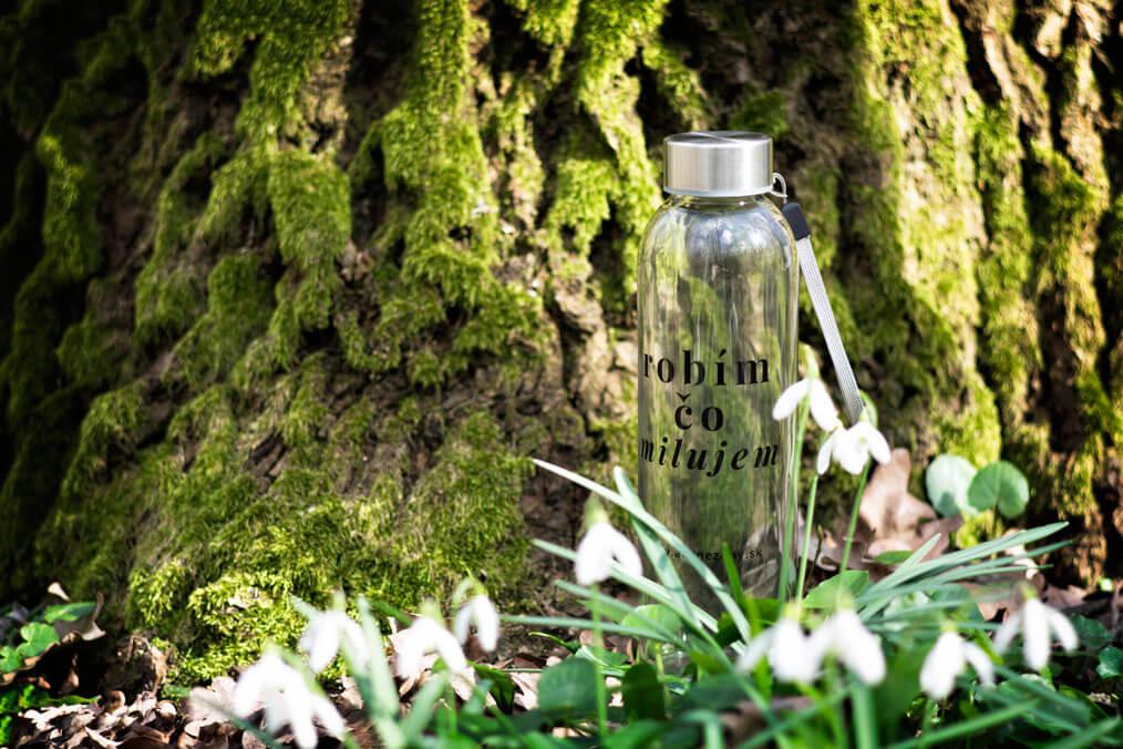 eko fľaša robím čo milujem